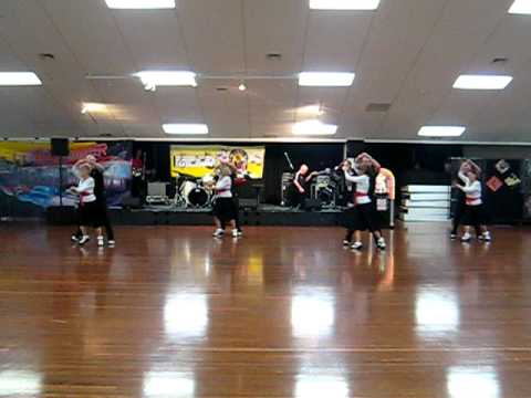 All Shook Up Partner dance Kaiapoi RnR Club 06-08-2011