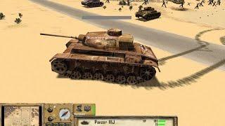 Самая Красивая Стратегия 2000-х про Войну ! Игра Afrika Korps vs. Desert Rats на ПК