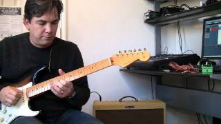 Fender Blues Deluxe Reissue Demo with a Fender Strat