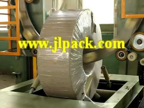 углеродистая сталь катушки упаковочная машина / тяжелая стальная лента упаковочная машина