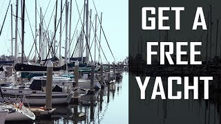 5 Tips to INSTANTLY Help You Find a FREE YACHT! | Learning the Lines - DIY Sailing