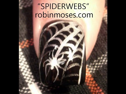 Easy spider web nail art tutorial youtube easy spider web nail art tutorial prinsesfo Images