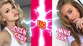Loren Gray  VS Anna Zak  Musica.ly❤