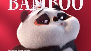 【Bamboo Panda ❤】Unique Fashion Show | Chinese Short Animation | Funny | 熊猫班卜 #panda #animation #cute