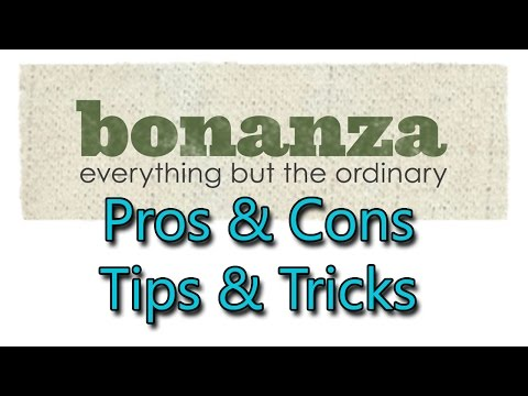 Why Aren't You Selling on BONANZA? Tips & Tricks, Pros & Cons - Dorky Thrifters
