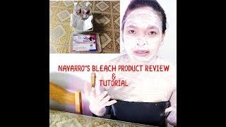 Gambar cover Navarro's bleach review and How to apply