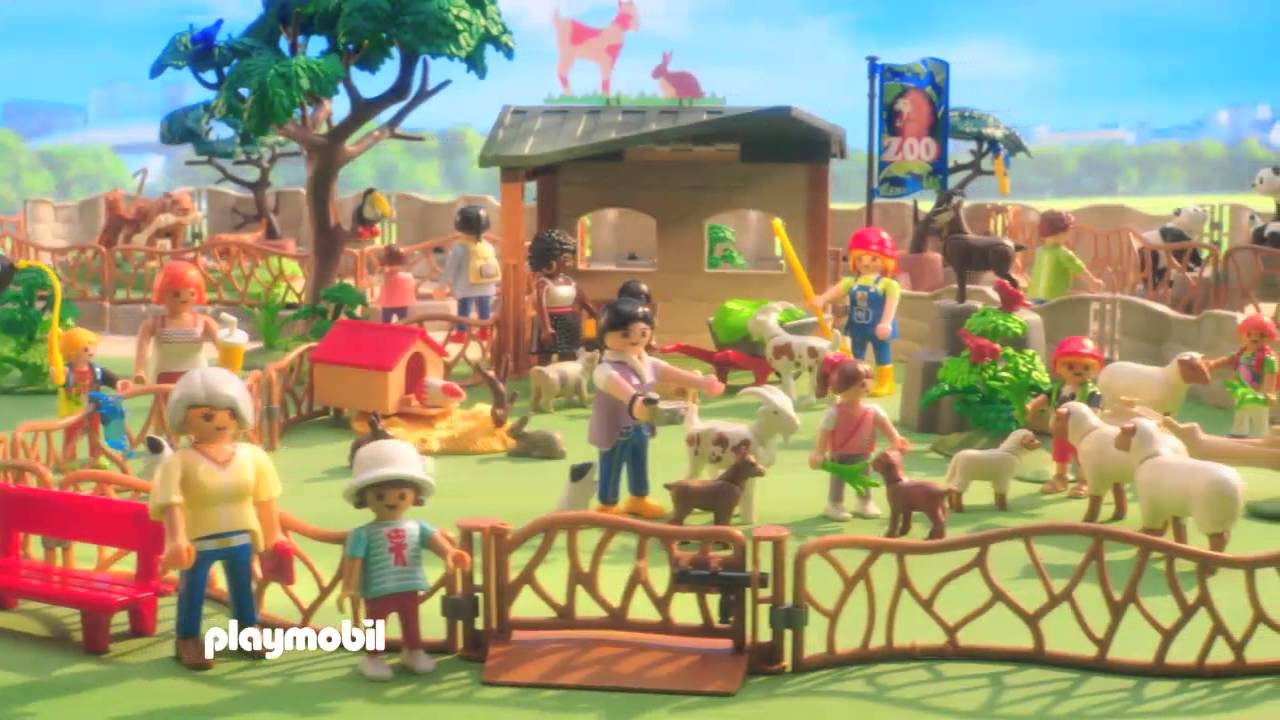 playmobil nieuwigheden city life zoo youtube. Black Bedroom Furniture Sets. Home Design Ideas