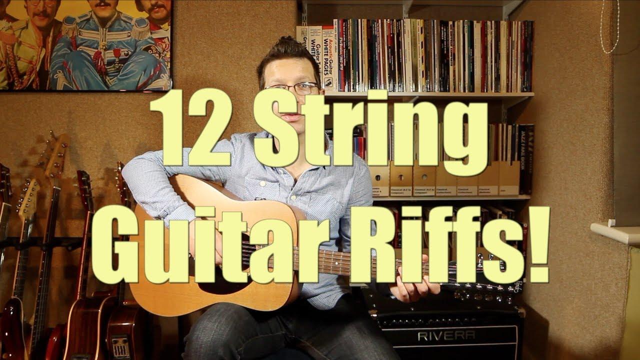 Twelve String Guitar Riffs Performed By Guitar Teacher Cliff Smith