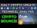CRYPTO BOUNCE!!! Nano, Bitcoin Lead The Way (Daily Update)