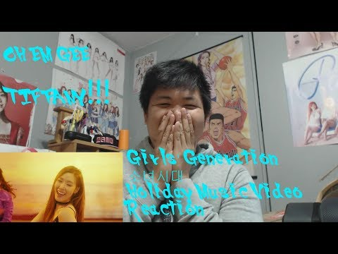 OH EM GEE TIFFANY!!! Girls' Generation 소녀시대 - Holiday MV Reaction