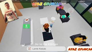 ROBLOX RESTAURANT GAME CONTINUES,FUN CHILDREN'S VIDEO,AYAZ TOY