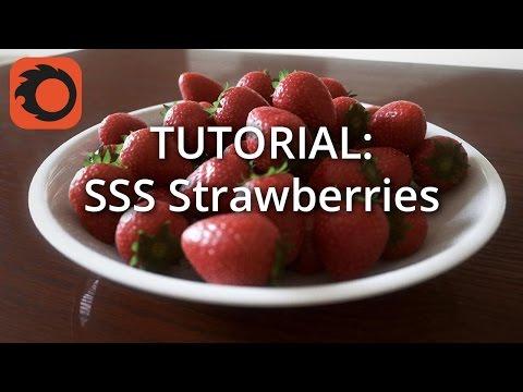Tutorial: Using SSS to shade strawberries