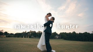 Samantha + Hunter // Wedding 2019