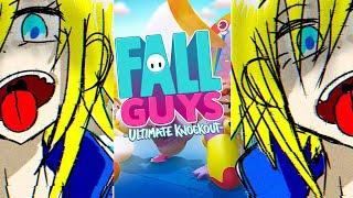 【fall guys】発狂しないで1位目指す【卯月コウ/にじさんじ】