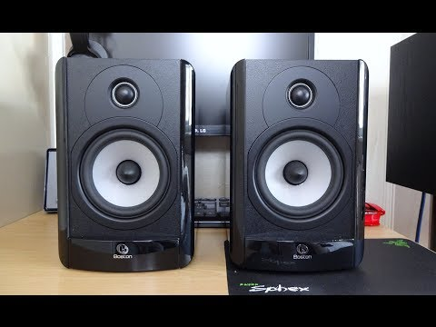Boston Acoustics A25 Review And Sound Test Youtube