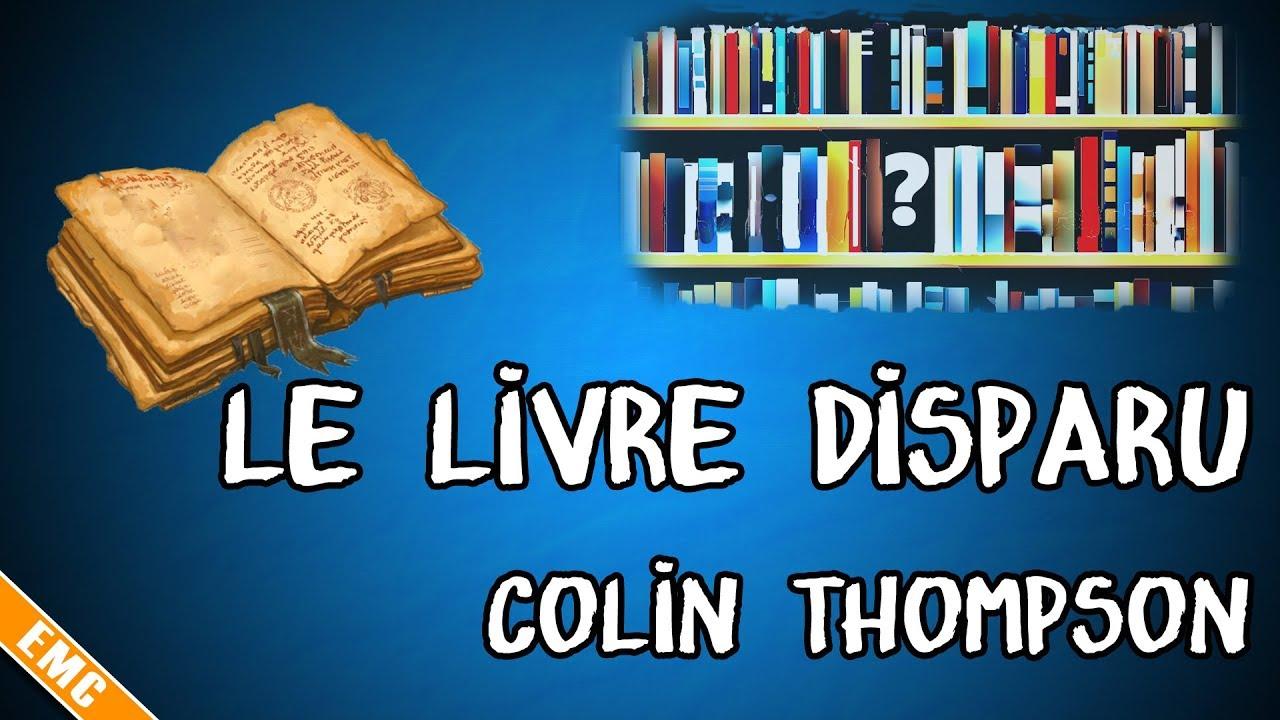 Mystère à la bibliothèque : Le Livre disparu, Colin