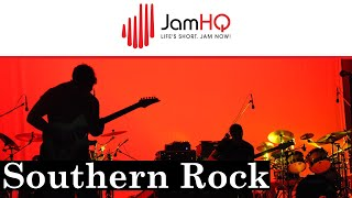 SOUTHERN ROCK Guitar Jam Track in D Minor Blues - Hawkeye