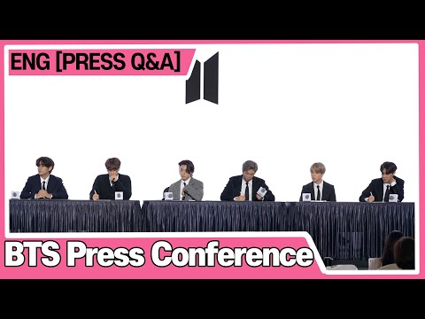 [ENG] 'Closing Press Q&A' BTS (방탄소년단) BE 'Life Goes On' BTS Global Press Conference 글로벌 기자간담회