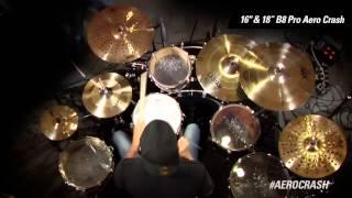 cymbal vote chad smith demo 16 18 b8 pro aero crash