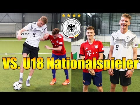 U18 NATIONALSPIELER Nick Woltemade demütigt mich | Fußball Challenge | ViscaBarca