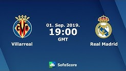 Real Madrid vs Villarreal Live Streaming
