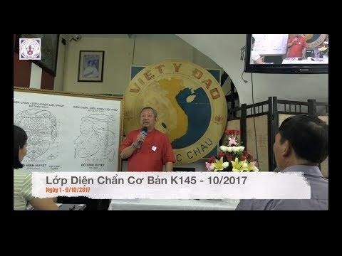 Lớp Diện Chẩn Cơ Bản K145 - Ngày khai giảng - 10/2017