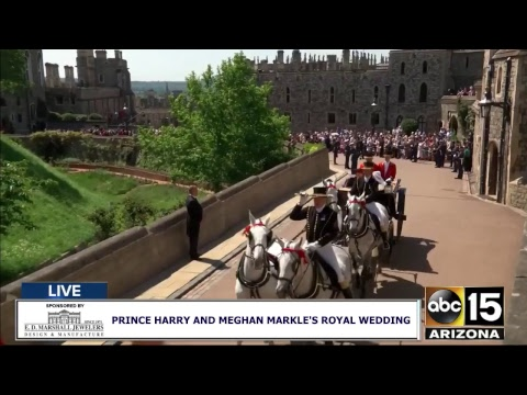 LIVE: Watch Prince Harry and Meghan Markle's Royal Wedding