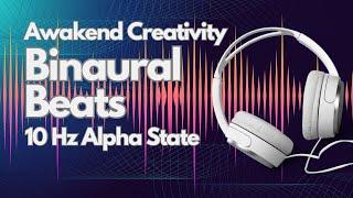 Binaural Beats Tones with Noise at 10hz Alpha Waves in Dark Screen