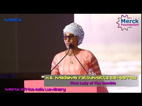 First Lady of the Gambia Fatoumattah Bah-Barrow to be Merck more than a Mother Ambassador