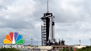 Live: SpaceX, NASA Launch U.S. Astronauts To International Space Station | NBC News