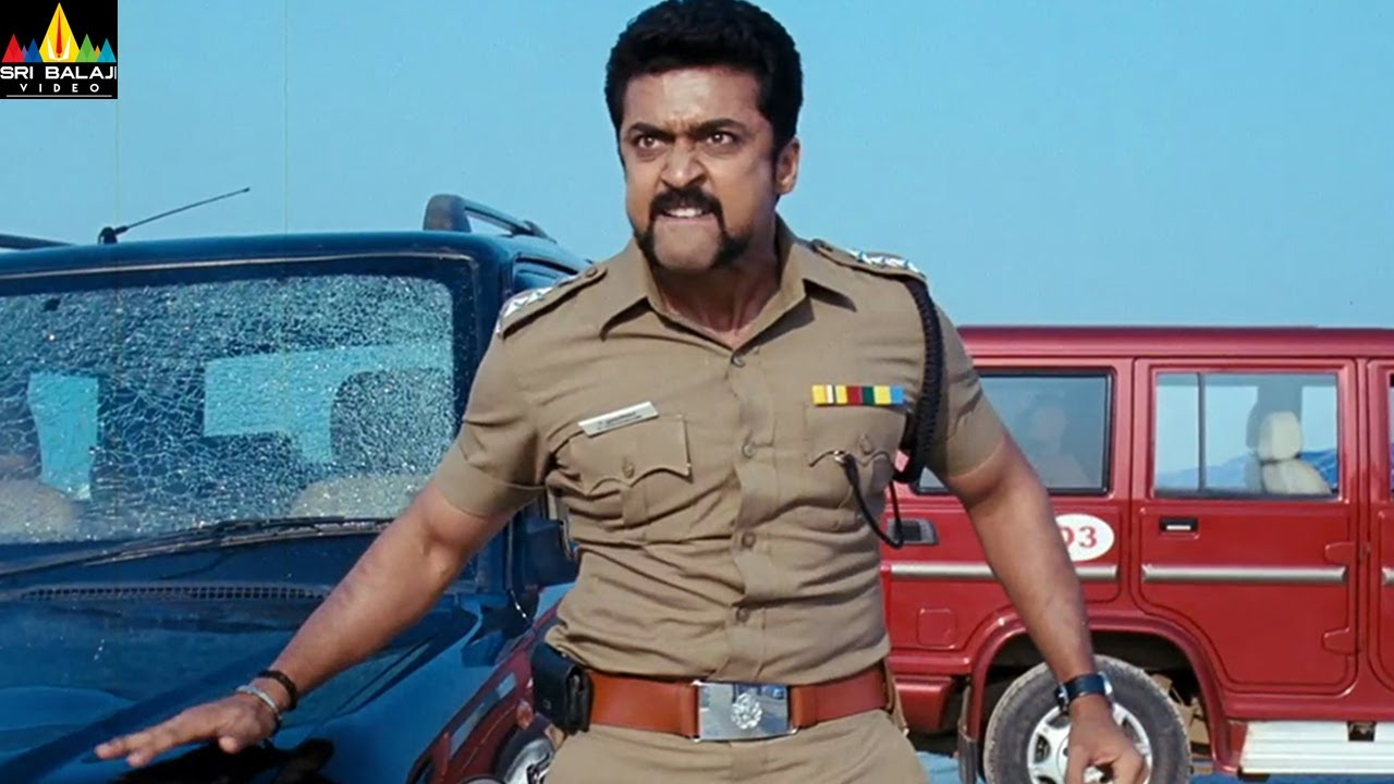 Surya Powerful Dialogues Back to Back | Singam Movie Action Scenes Back to Back | Sri Balaji Video