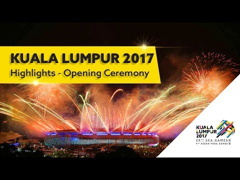 Extended Highlight of Kuala Lumpur 2017 Opening Ceremony