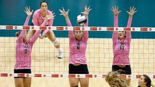 Rainbow Wahine Volleyball 2017 - Hawaii Vs Cal Poly
