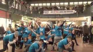 Dance Flashmob Hamburg / Ich geHÖRE daZU / Gangnam Style