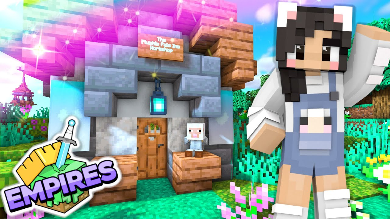 💙Starting A New Business! Empires SMP Ep.10 [Minecraft 1.17 Let's Play]