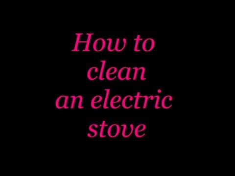 BCTV How to Clean an Electric Stovetop