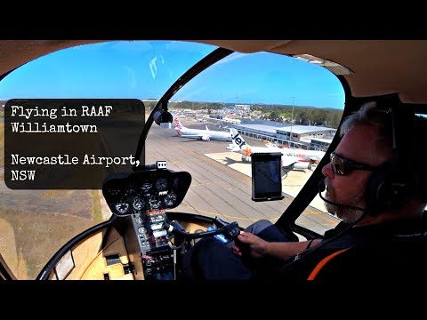 Dodging airliners, Hornets & Hawks before landing at RAAF Williamtown