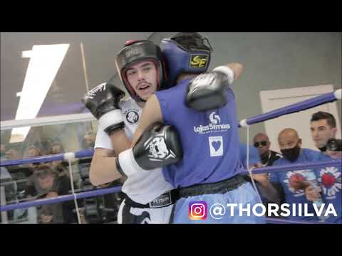 Filho de Wanderlei Silva, Thor Davi estreia com vitória no boxe