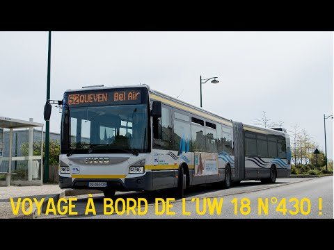 Voyage à bord de l'Iveco Urbanway 18 N°430