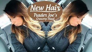 AMAZING Ombre Hair - Trader Joe's Grocery Haul