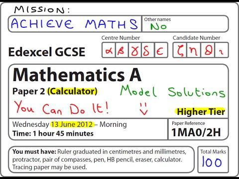 Coursework and exam calculator gcse