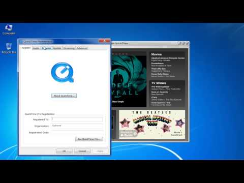 How to Set Quicktime as Default Player Windows 7