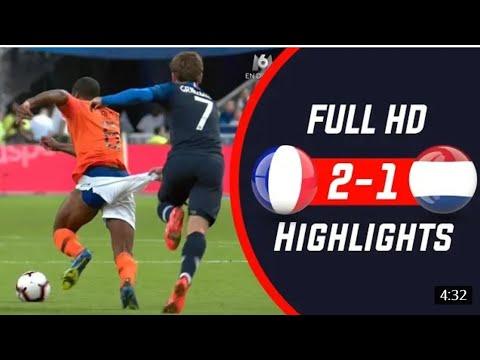 France vs Netherland 2-1 all goals 09 September 2018