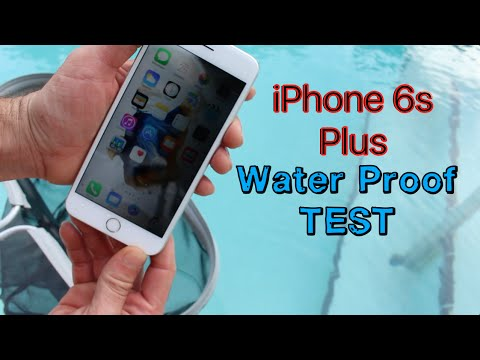 iPhone 6s Plus WaterProof Test