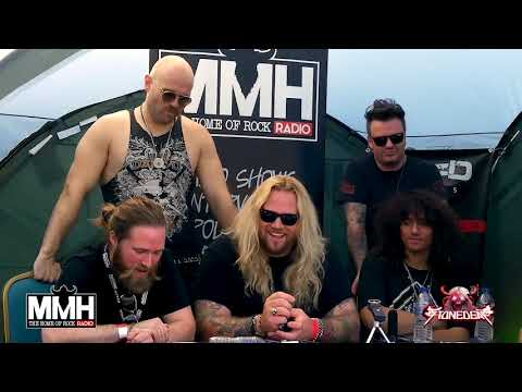 Inglorious Interview @ Stonedeaf Festival 2019