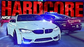 Need for Speed HEAT - HARDCORE Police Mode! (NO REPAIR/HUD)