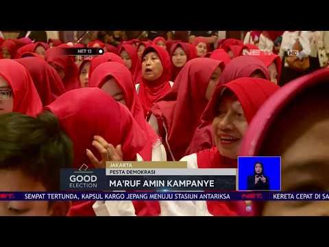 Arus Baru Muslimah Dukung KH Maruf Amin Di Pilpres 2019-NET12 Mp3