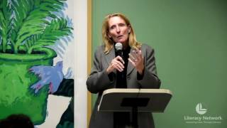 Gambar cover Executive Director of Madison-Area Urban Ministry Linda Ketchum speaks at Literacy Network