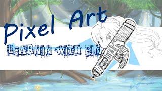 Tutorial - Learnin with Bin : Pixel Art