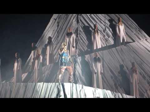 Kanye West Live Intro Onsight New Slaves Yeezus Tour San Antonio